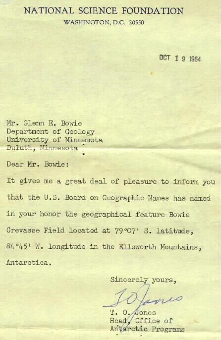 NSF letter
